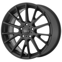 American Racing AR904, 17x7 with 5 on 4.5 Bolt Pattern - Satin Black - AR90477012740