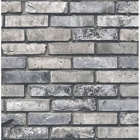Brewster Painted Grey Brick - Halloween Wallpaper Ios 7