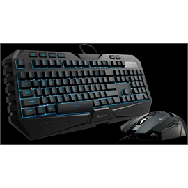 CM Storm SGB-3020-KKMF1-US CM Storm Octane LED Gaming Combo - USB Cable Keyboard - Black - USB Cable Mouse - Optical - 3500 dpi - Scroll Wheel - Black - Right-handed Only