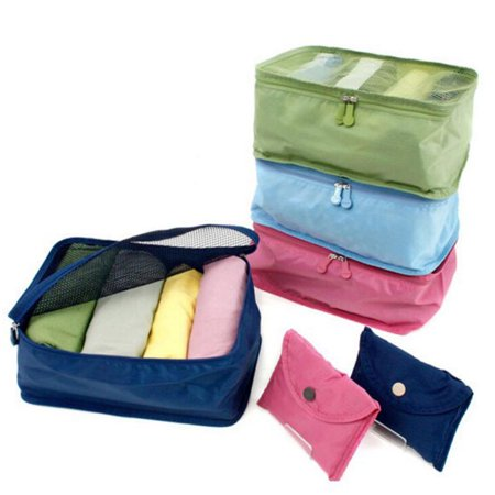 BALIGHT Waterproof Travel Clothes Storage Bags Luggage Organizer Pouch Packing Cube Box
