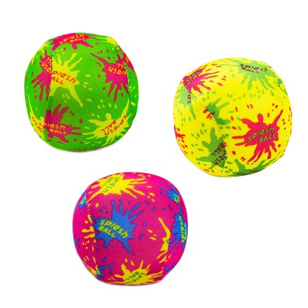 Water Bomb Splash Balls for Pool, Summer Beach Soaking Games and Fun Children Party Activities (12 P (Party Activities)