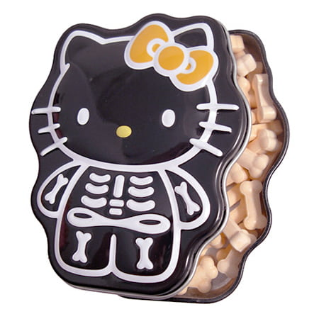 Hello Kitty Sour Orange Skelly Bones Candy - Bag O Bones Halloween Candy