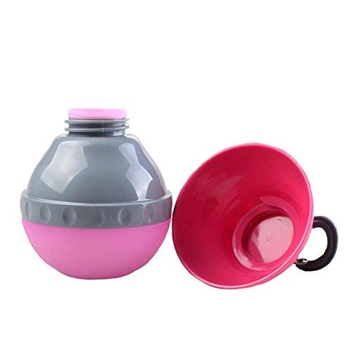 I-Fashion Portable Silicone Folding Pets Bowl Travel Outd...