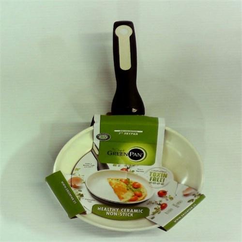 GreenPan Rio 7 Aluminum Fry Pan - Black