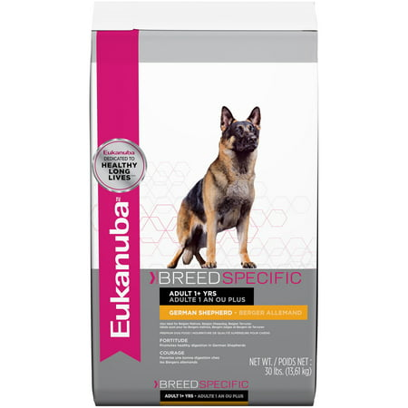 Eukanuba Breed Specific German Shepherd Nutrition Dry Dog Food, 30 Lb