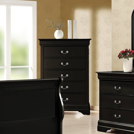 Coaster Company Louis Philippe Collection Chest, Black