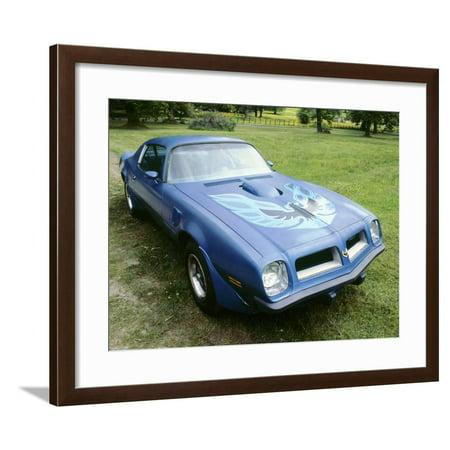 1974 Pontiac Trans AM 455 Super Duty Framed Print Wall