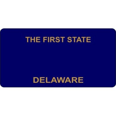 Delaware Today Online - Design It Yourself Delaware Bicycle Plate #2. Free Personalization on Plate