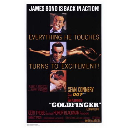 Goldfinger - movie POSTER (Style A) (27
