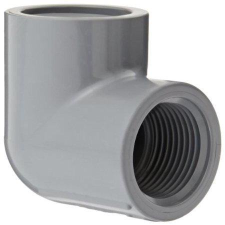 """Spears 808-C Series CPVC Pipe Fitting, 90 Degree Elbow, Schedule 80, 1"""" NPT Female"""