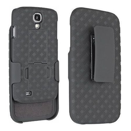 Samsung Galaxy S4 Case - Wydan Holster Shell Combo Kickstand Feature Phone Cover