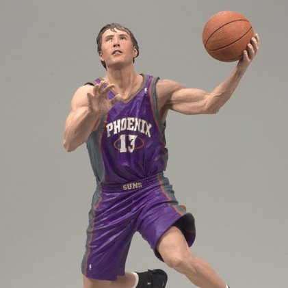 Steve Nash 3 Phoenix Suns Regular: Purple NBA series 14 McFarlane figure