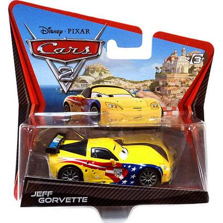Disney Cars Main Series Jeff Gorvette Diecast Car Walmart Com