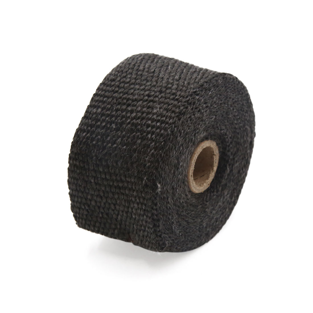 Black Fiberglass Exhaust Pipe Wrap Tape Turbo Heat Insulation Cloth 10M Long - image 1 de 3