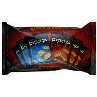 Popchips Original Barbeque Potato Chips, 4.8 oz (Pack of 12)