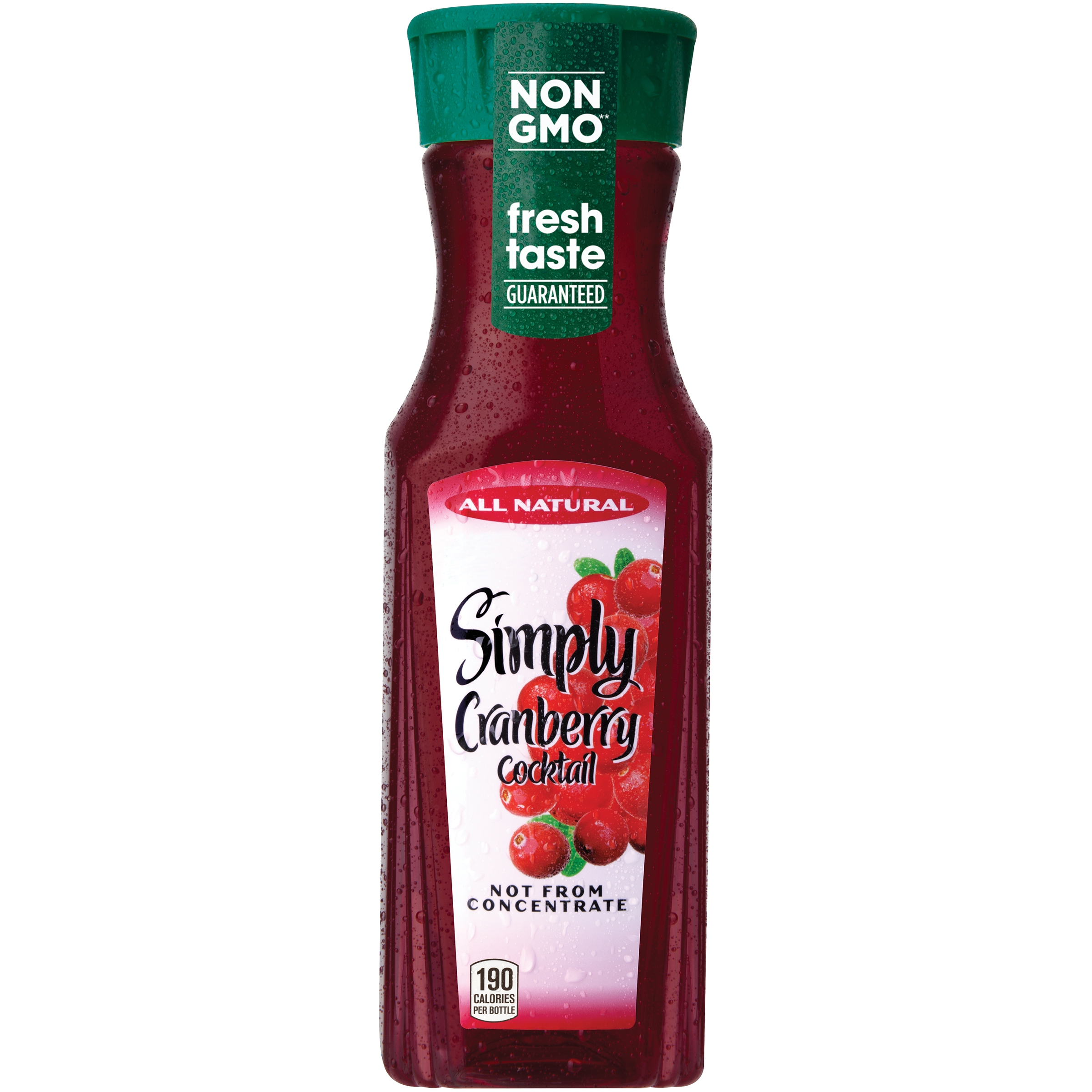 Simply Cranberry Cocktail 11.5 oz. Bottle