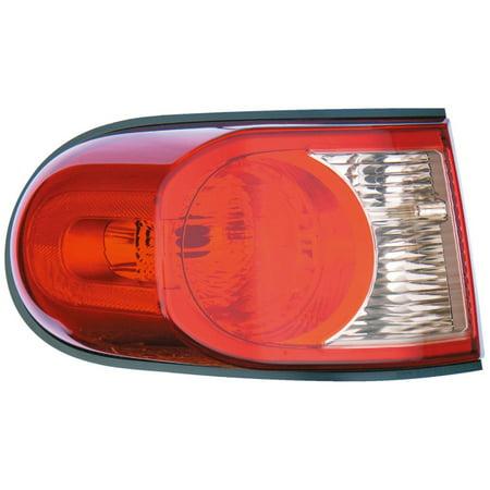 Dorman 1611244 Tail Light For Toyota FJ Cruiser, Clear & Red Lens