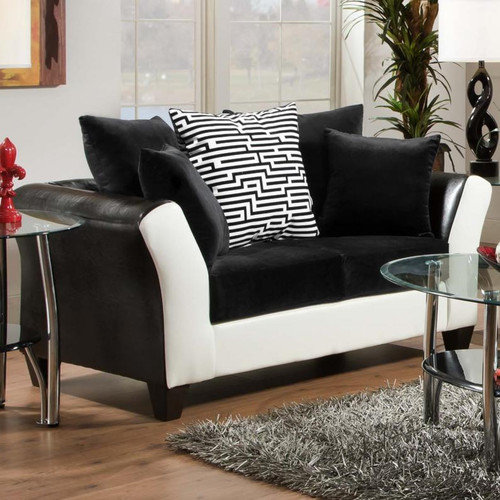 Chelsea Home Tau Loveseat