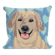 Liora Manne Frontporch Puppy Love Indoor/Outdoor Pillow