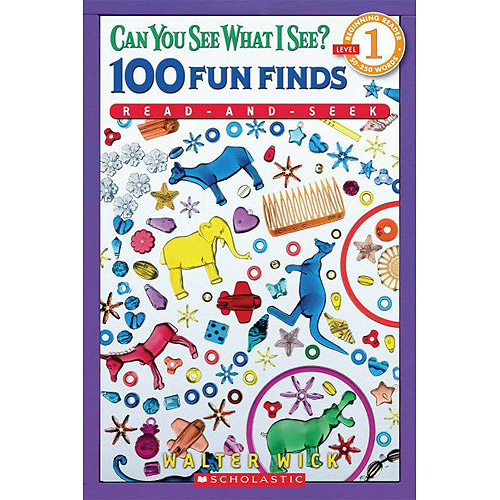 Can You See What I See?: 100 Fun Finds, Read-and-Seek