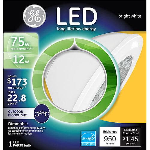 GE 75-Watt Equivalent Soft While Par38 LED Light Bulb