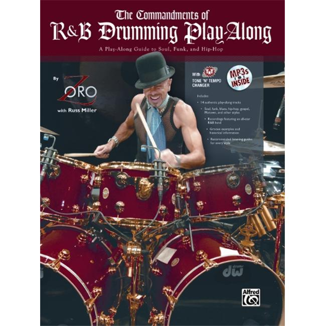 Alfred The Commandments of R&B Drumming Play-Along (Book and MP3cd