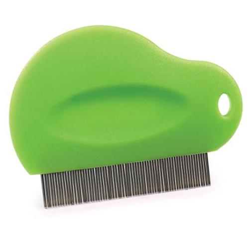 U���Groom Flea Comb Contoured Grip
