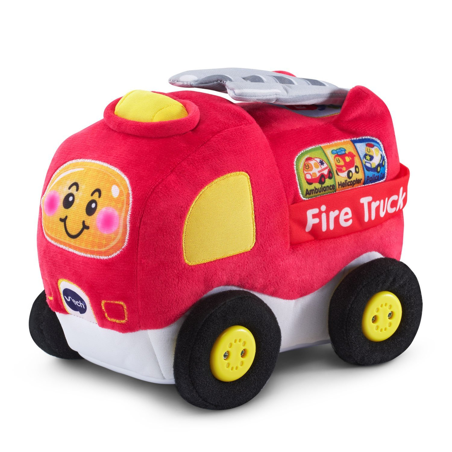 Crawl & Cuddle Fire Truck, USA, Brand VTech by