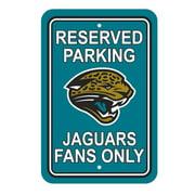 NFL Jacksonville Jaguars Parking Sign