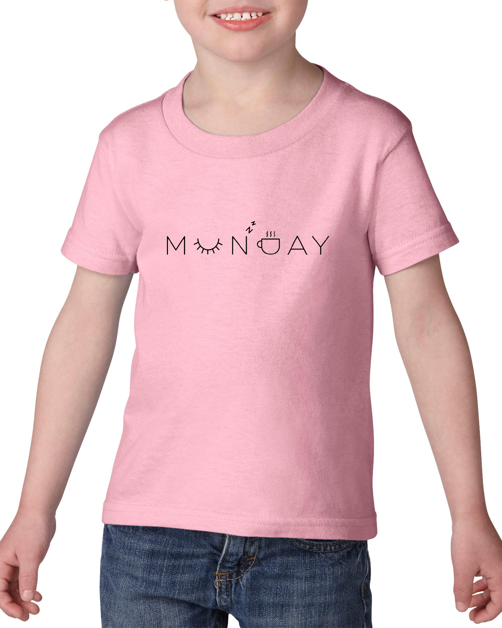 Artix Munday Zzz Coffee Please Gift for Coffee Lovers Birthday Xmas Match w Grinder Mug Heavy Cotton Toddler Kids T-Shirt Tee Clothing