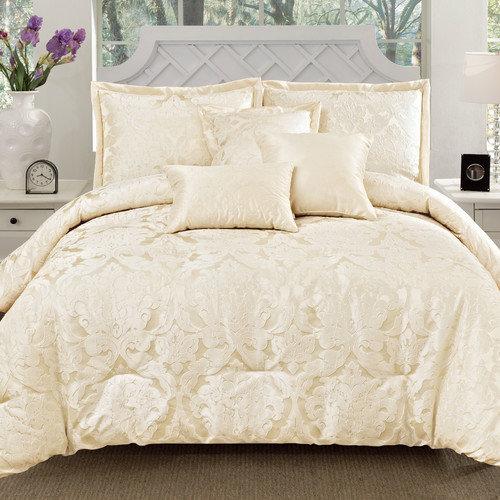 6-Piece Oxford Jacquard Comforter Set