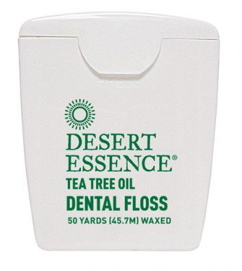 Dental Floss-Tea Tree Oil Desert Essence 50 Yard Floss