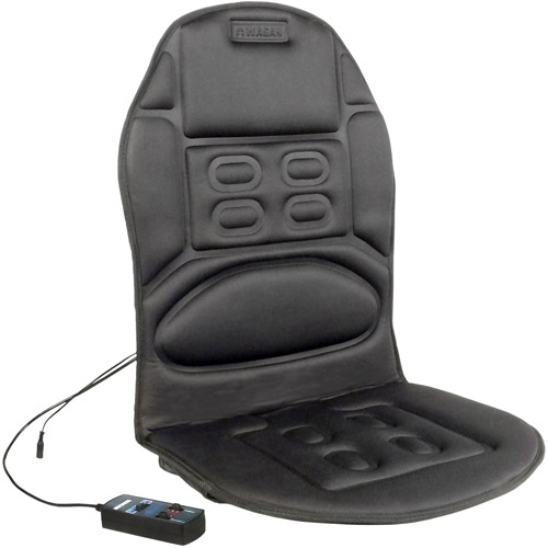 Wagan Ergo Comfort Rest 12V Heated Massage Cushion