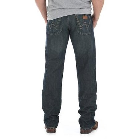 wrangler mens retro low rise straight leg jeans