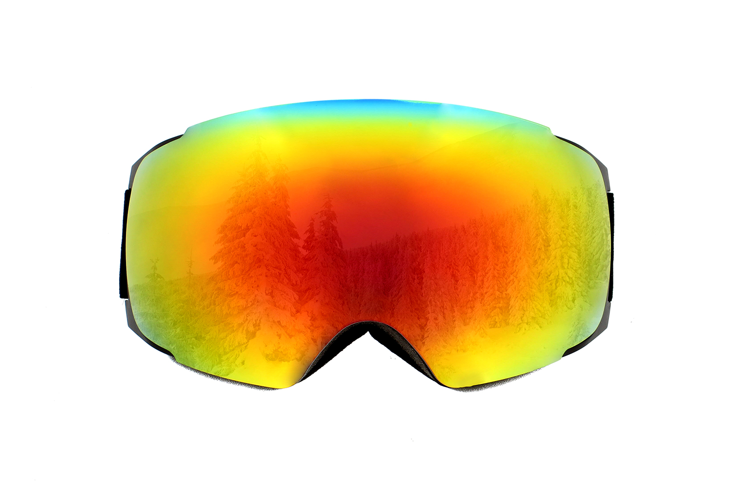 Snowboard Snowmobile Ski Goggles with Magnet UV Anti-Fog Spherical Lens by Redneck Convent