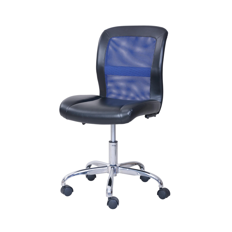 Mainstays Vinyl And Mesh Task Office Chair Multiple Colors Walmart Com Walmart Com