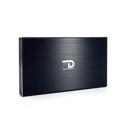 - Fantom Drives GFORCE3 Mini 4TB USB 3.0/3.1 Portable External Hard Drive - Black