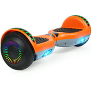 """Hoverboard 6.5"""" Two-Wheel Self Balancing Hoverboard with LED Lights Electric Scooter and Bluetooth without Free Carry Bag for Adult Kids Gift UL 2272 Certified"""