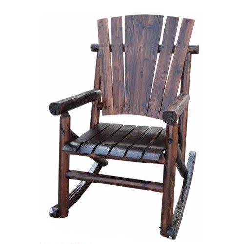 Leigh Country Char Log Single Rocking Chair I