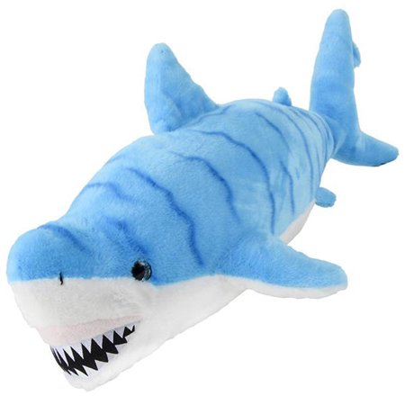 Shark Candy (Adventure Planet Plush Cotton Candy - BLUE STRIPED GREAT WHITE SHARK (30)