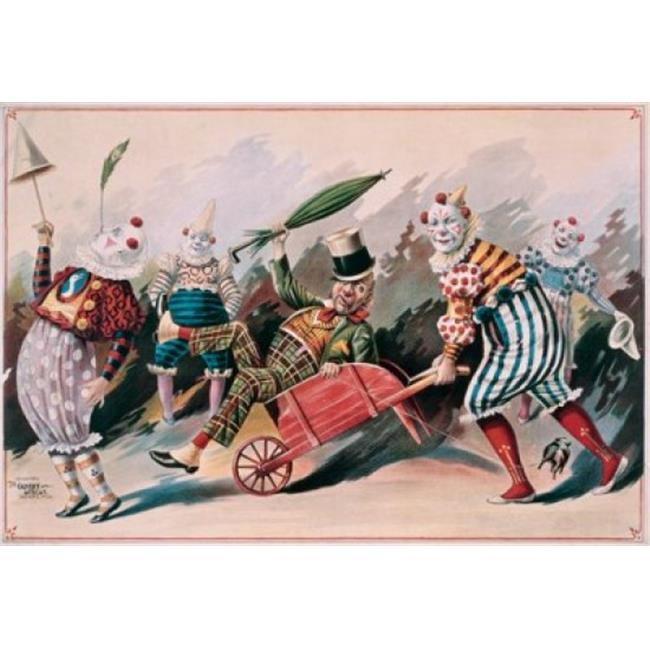 Posterazzi SAL900132282 Clowns 1890 Posters Poster Print - 18 x 24 in. - image 1 of 1