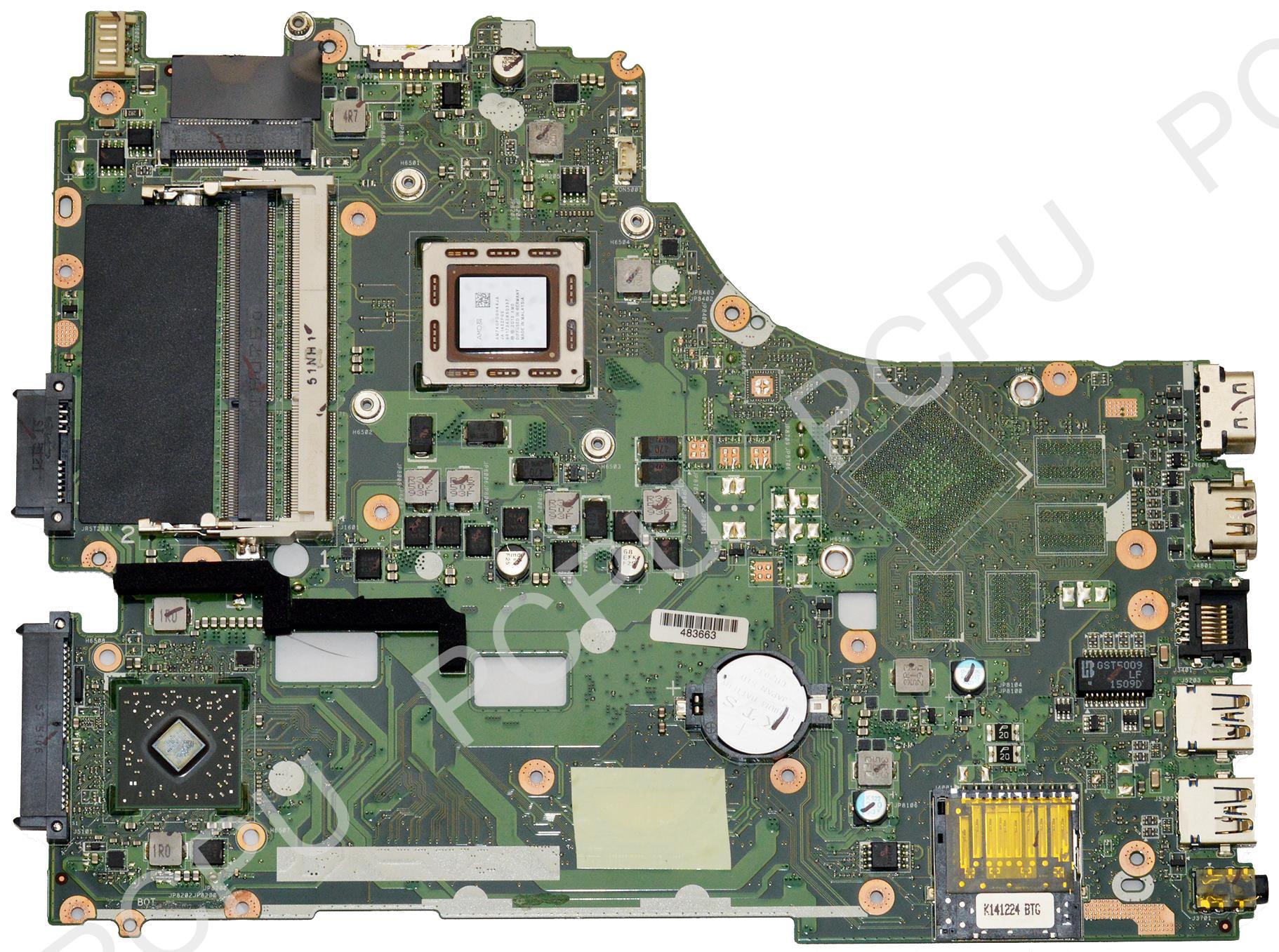 60NB07A0 MB1400 Asus X550ZA Laptop Motherboard w AMD A10 7400P 2 5Ghz CPU Walmart
