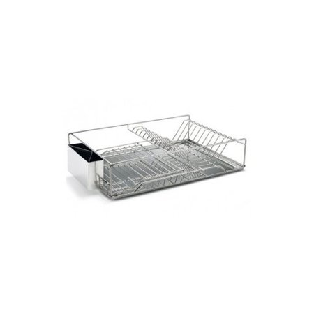 Just Manufacturing Stainless Steel Dish Rack With With
