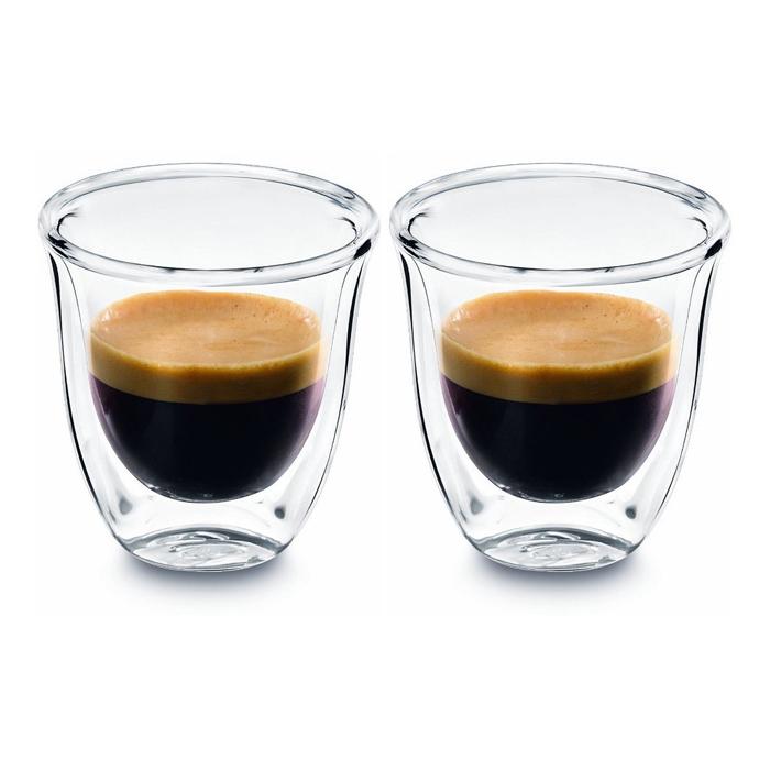 Delonghi 2 Espresso Glasses
