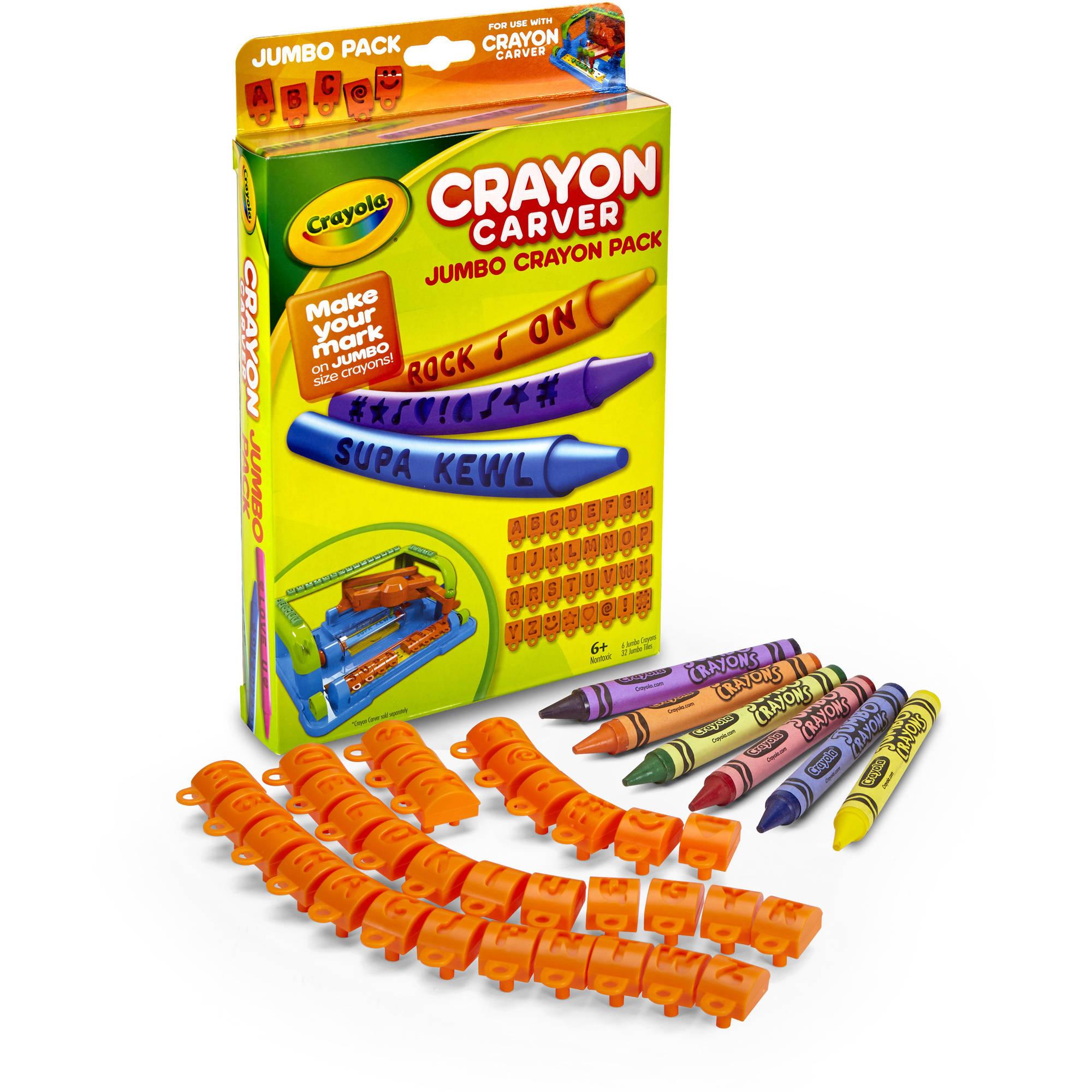 Crayon Carver Jumbo Expansion Pack
