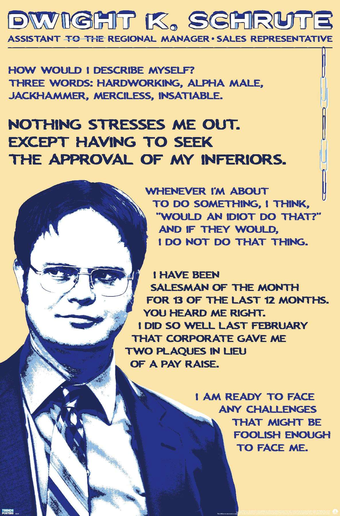 The Office Final Episode Quote Poster