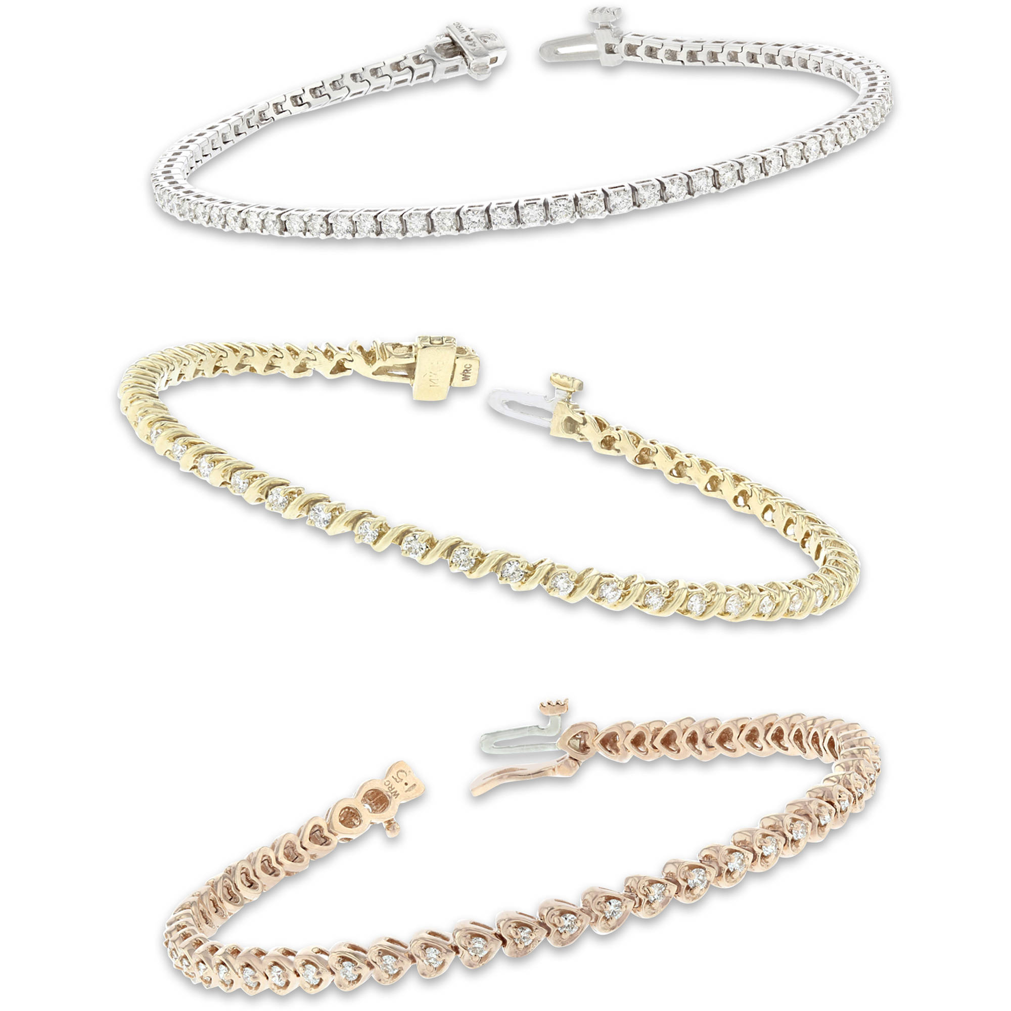 Design Your Own Diamond Tennis Bracelet by WRCOBB