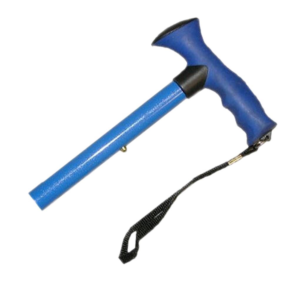 AlexOrthopedic Adjustable Travel Folding Cane With Comfort Grip Handle - Pink