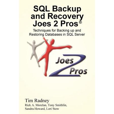 SQL Backup and Recovery Joes 2 Pros (R) : Techniques for Backing Up and Restoring Databases in SQL (Backup And Restore In Sql Server 2008)