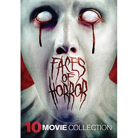 Faces of Horror: 10 Films (DVD) (Halloween Horror Film Quiz)